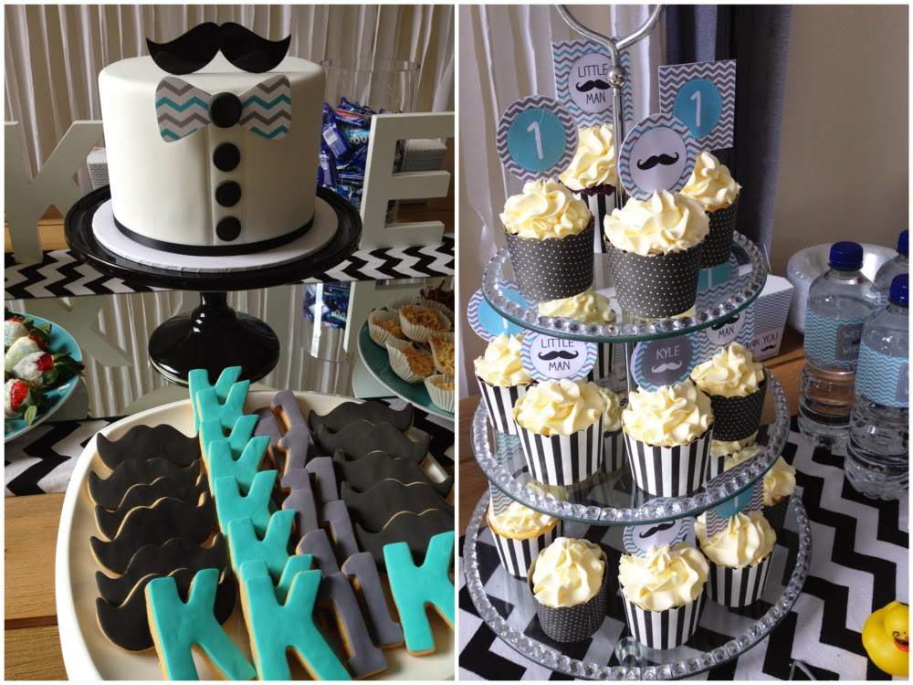 A Little Mans First Birthday Party My Party Design Blog