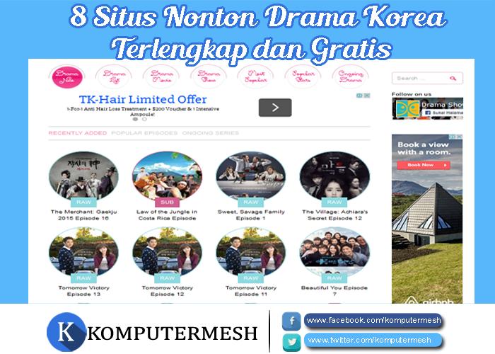 8 Situs Nonton Drama Korea Terlengkap dan Gratis ...