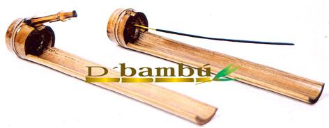 porta sahumerios de bambú-eltallerdejazmin