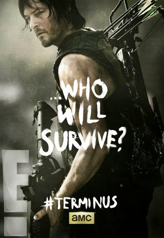 """Poster de Daryl para el final de la cuarta temporada  """"The Walking Dead"""""""