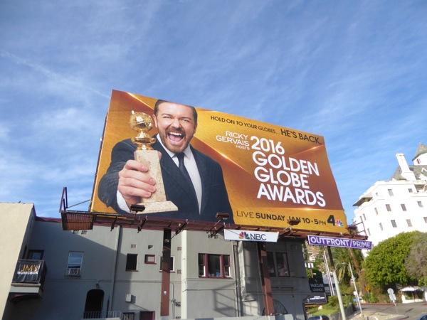 2016 Golden Globe Awards billboard