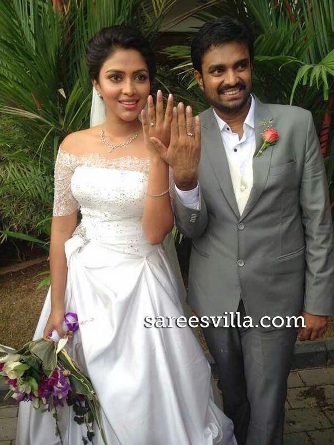 Amala Paul engagement with Director Vijay