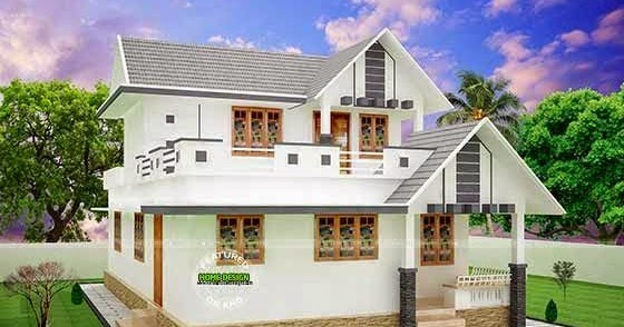 House Plan Plans Pinterest   Free Online Image House Plans    House Design Home Sq Ft Small Double Storied Home on house plan plans