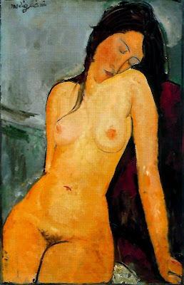 Nu femení assegut (Amedeo Modigliani)