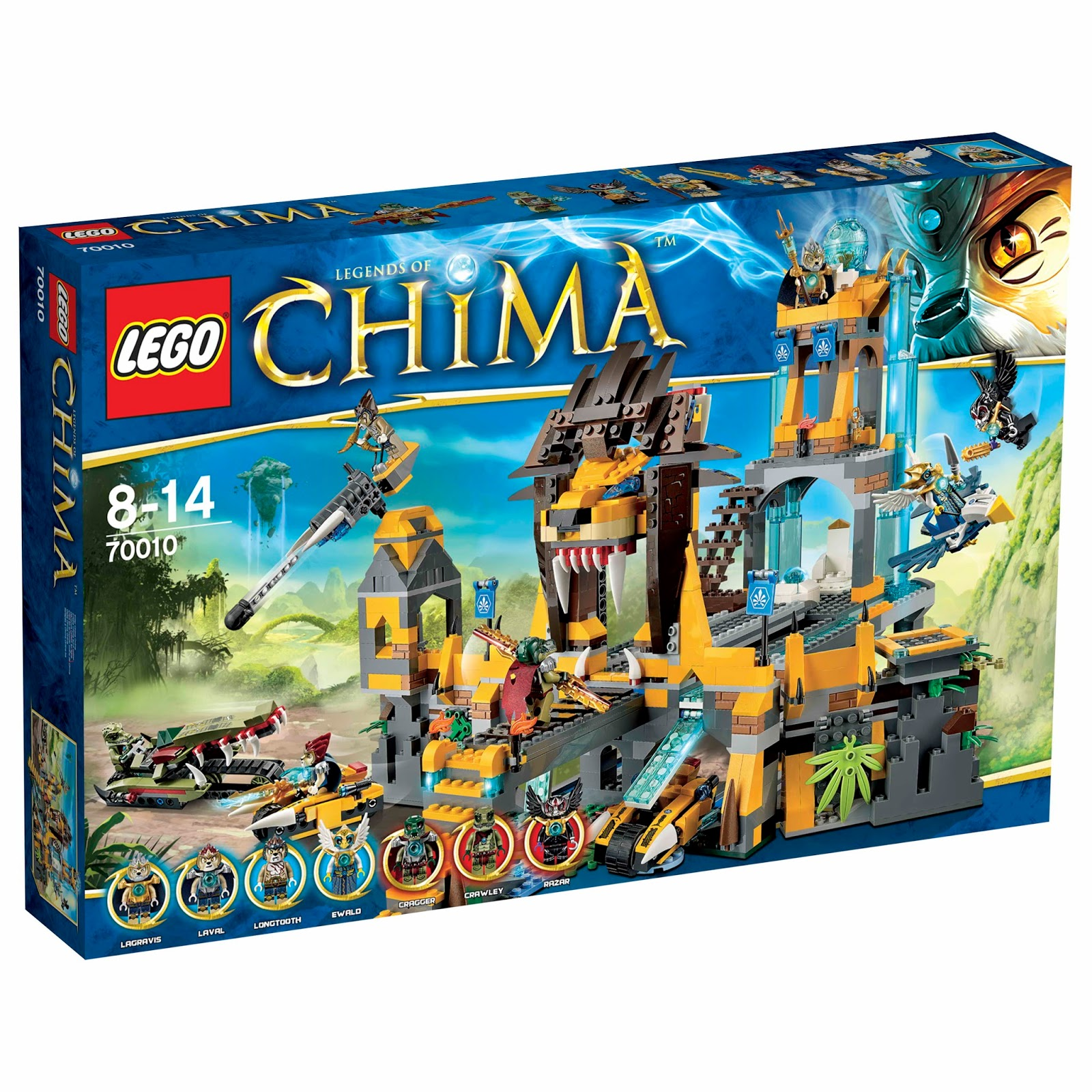 Unofficial blog about lego legend of chima lego chima 70010 the lion chi temple - Lego chima a colorier ...