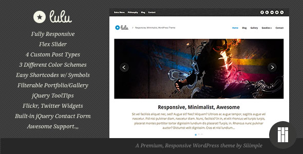 Lulu WordPress Theme Free Download by ThemeForest.