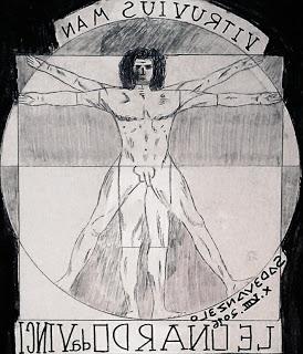 VITRUVIAN MAN-Leonardo da Vinci