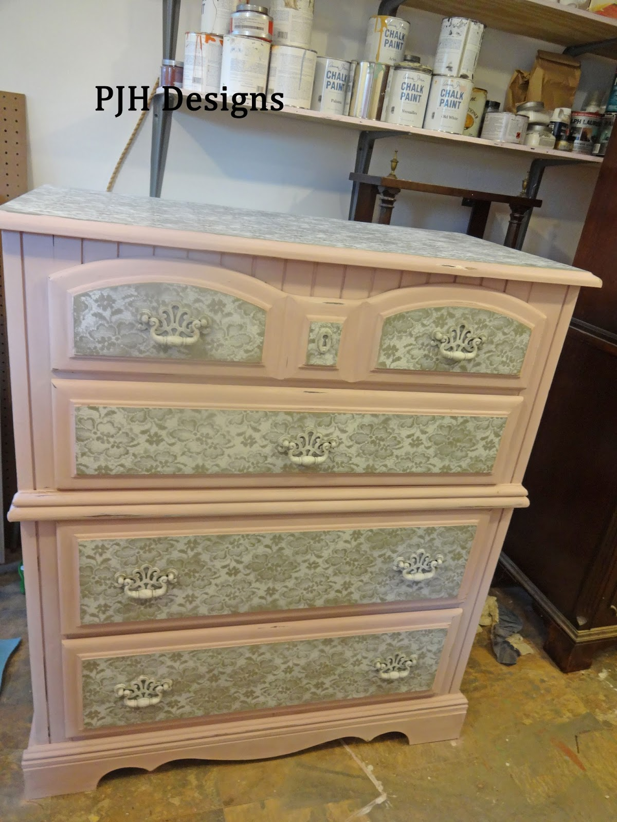 Hand Painted Chest Of Drawers Designs - You can see by this picture what i love to paint with the most i m loving my work shop my husband is a doll to build this for me