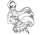 #6 Stella Coloring Page