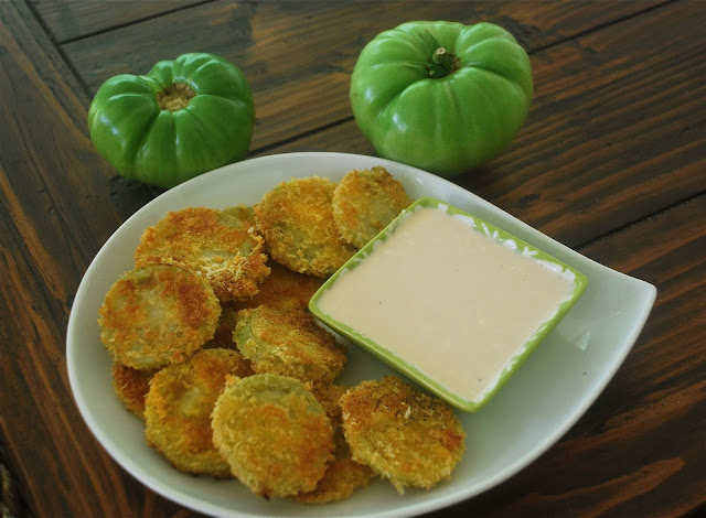 Table Experience: Fried Green Tomatoes with a Buttermilk Dipping Sauce ...