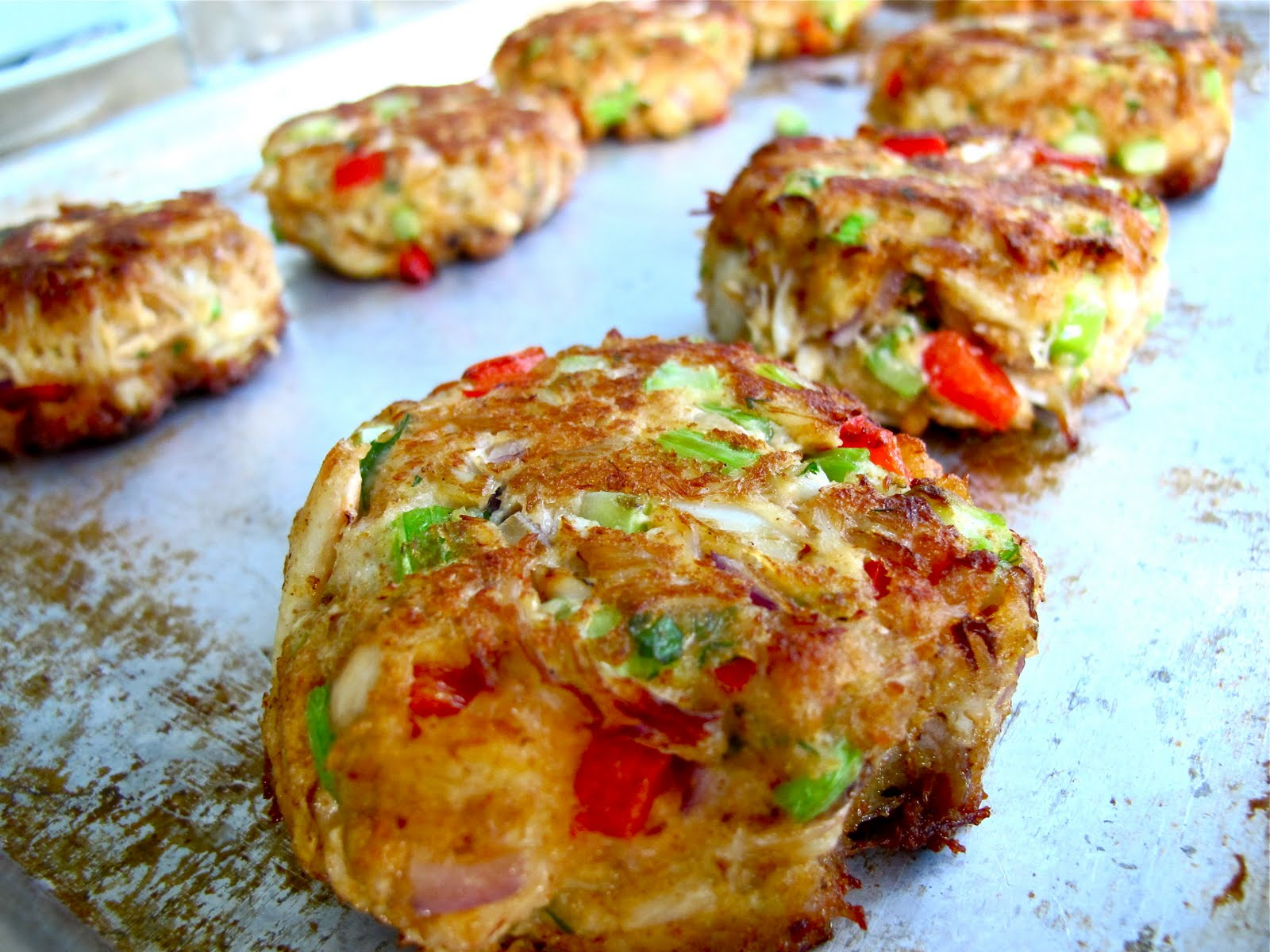 Crab cakes recipe made with panko