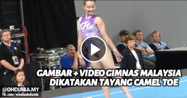 Kontroversi Gimnas Farah Ann didakwa sengaja tayang 'Camel Toe'
