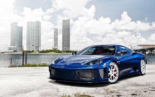 Ferrari 360 Modena - Autos deportivos de súper lujo
