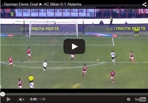 Highlights : AC Milan 0- 1 Atalanta
