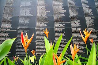 Rwanda Genocide Memorial one of six mass graves.
