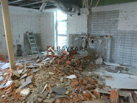 Bina İçi Kırım, Kaba Temizlik