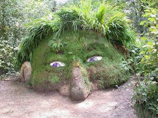 Grass Sculpture of Elephant