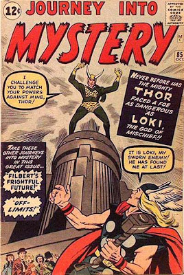 Journey into Mystery #85, Thor, first appearance of Loki
