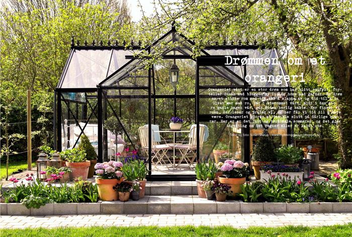 My loving home and garden: sanselige rum