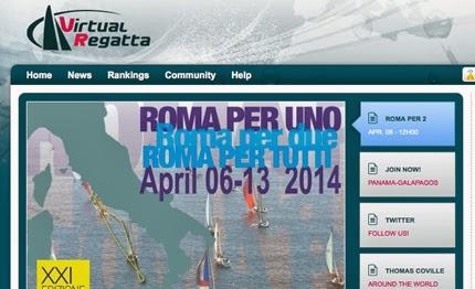 La Roma per 1 sarà la prima regata virtuale italiana