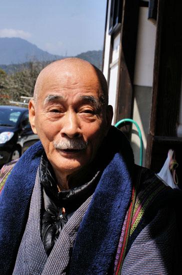 Mudo-in priest, Kyushu, Japan.