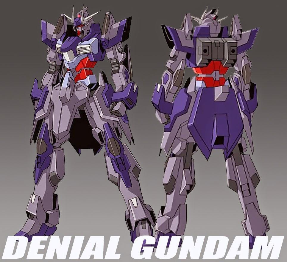 Denial gundam for Domon gundam build fighters try