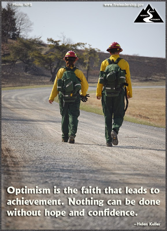 Optimism is the faith that leads to achievement. Nothing can be done without hope and confidence. –Helen Keller