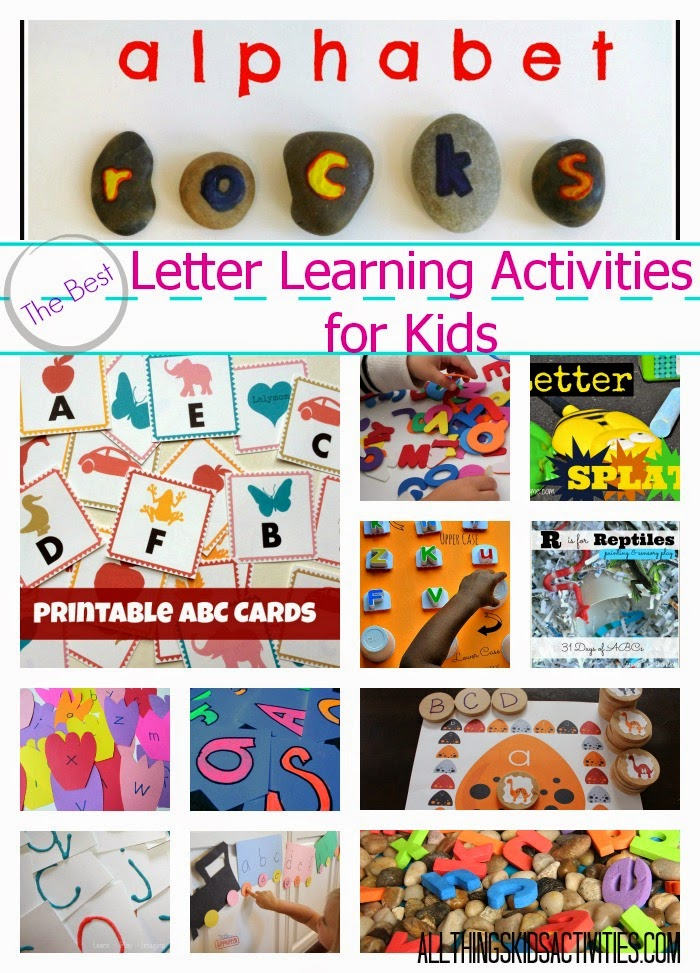 Letter Learning Activities for Kids