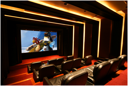 Home Theatre Ceiling Designs