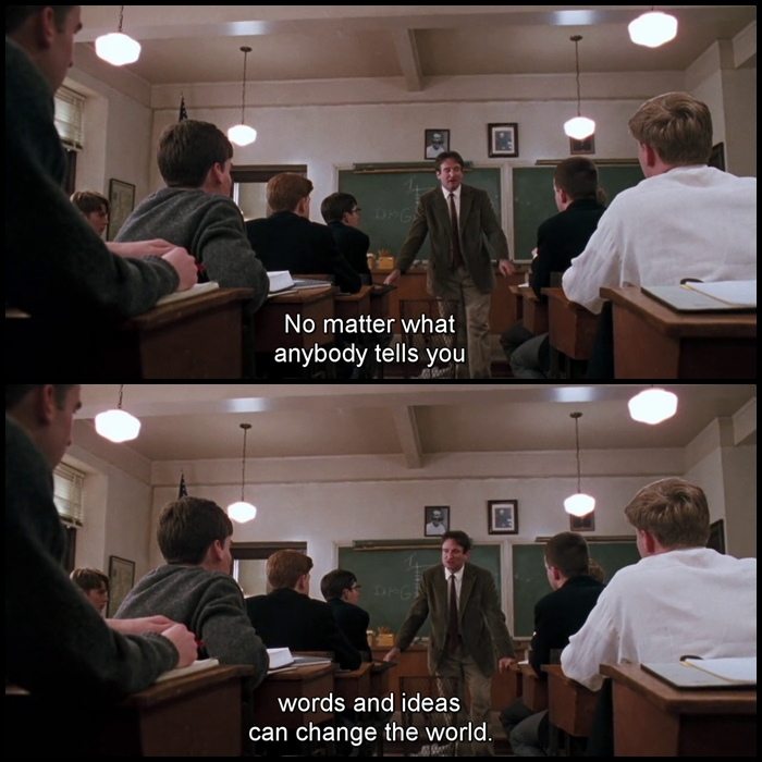 the maturity of crabbe in dead poets society by tom schulman In each of the following sections, we analyze these components not in dead poets society, a film written by tom schulman only in terms of problematic discussion, but also by proposing paths of liberation.
