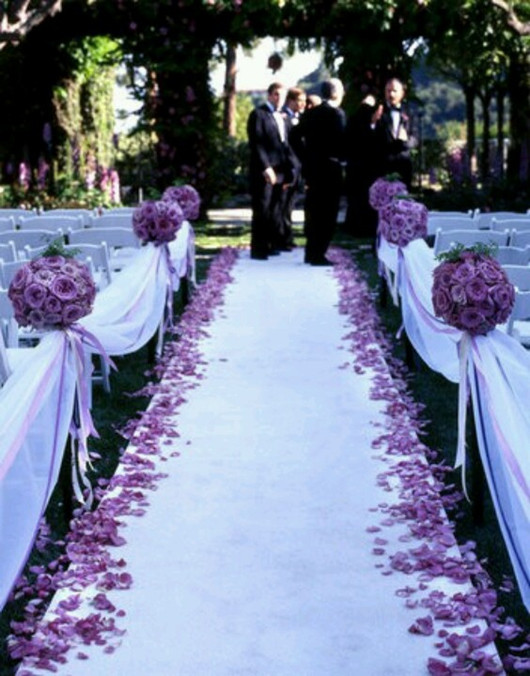 Purple wedding theme inspirations
