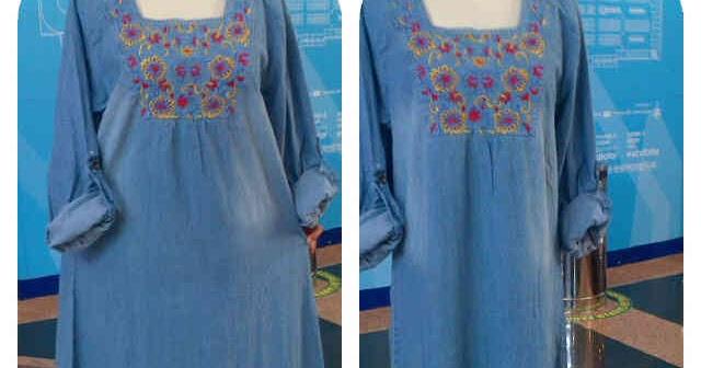 Baju Cewek Gamis Jeans Ukuran Xl Baju Wanita Online