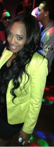 Yandy Smith With Her Natural Hair