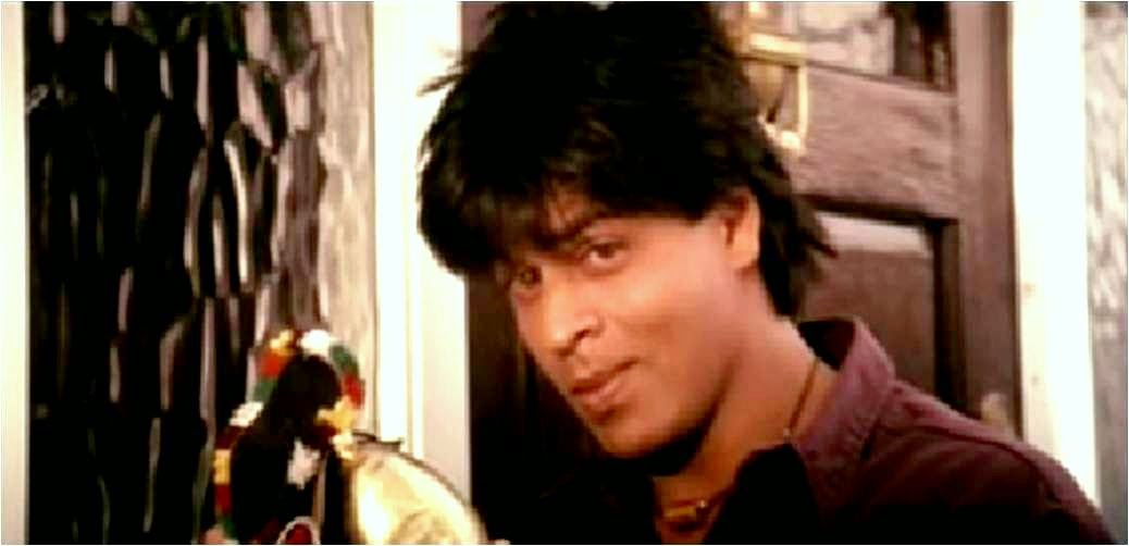 Shahrukh Khan with cow bell in DDLJ