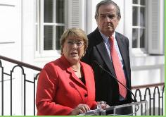 """Santa Cruz valora presencia empresarial en gira de Bachelet: """"La cara de Chile afuera es una sola"""""""