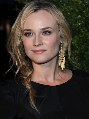 Diane Kruger Dangle Decorative Earrings