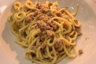Bigoli with white meat ragu
