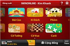 iwin 420 cho điện thoại