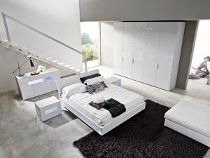 Dormitorios matrimoniales en blanco dormitorios con estilo for Diseno de dormitorio blanco