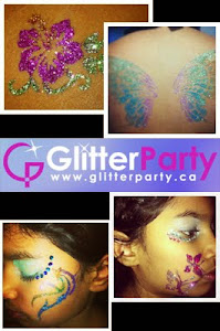 Get your Glitter tattoos!
