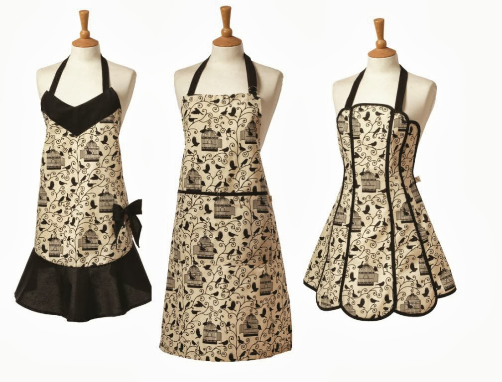 Bird Cage Bow Vintage Style Apron   Review Part 49