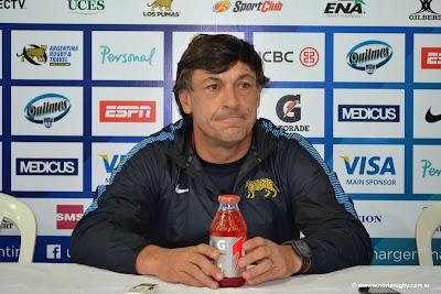 Daniel Horucade, entrenador de Los Pumas