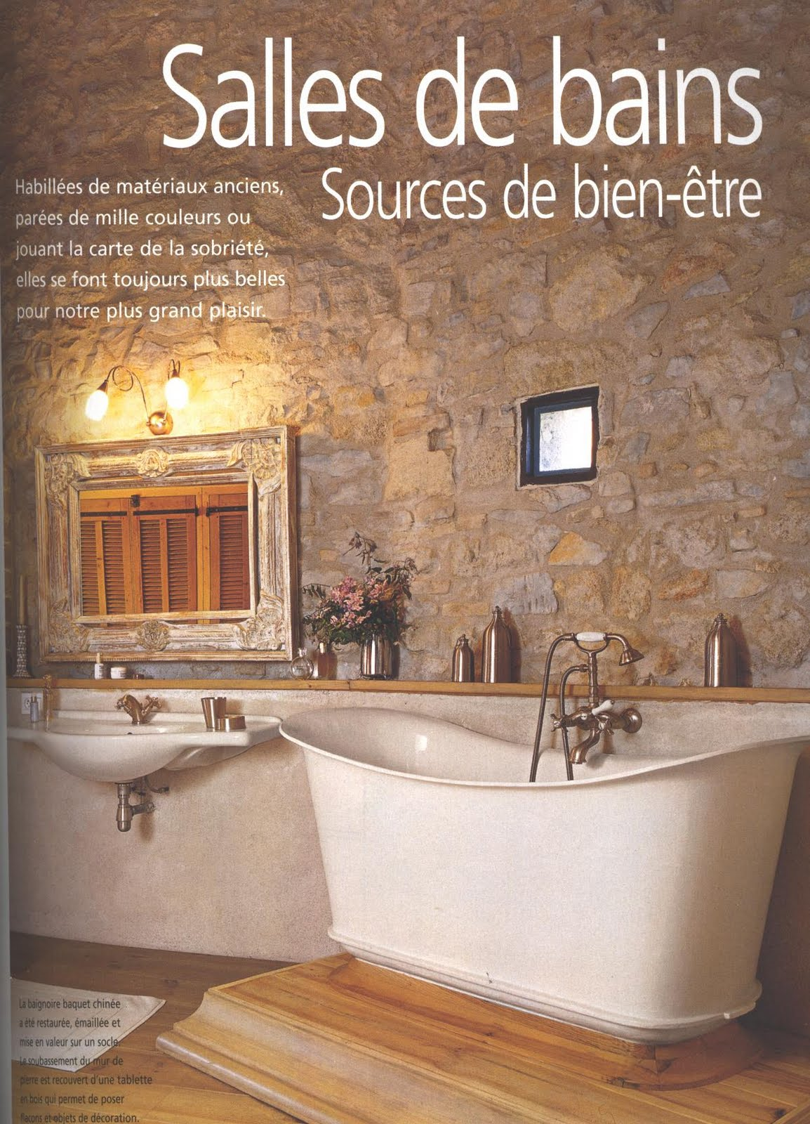 BOISERIE & C.: Bagno: la matericità dello stile provenzale