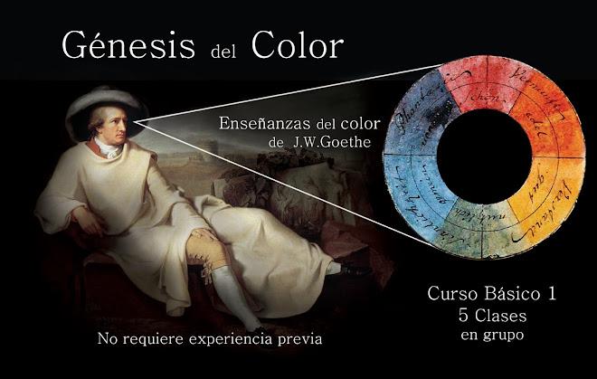 """Curso basico 1 """"Genesis del Color"""""""