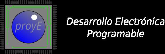Desarrollo de electrónica programable