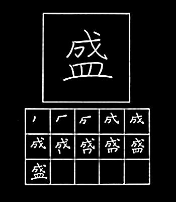 kanji sukses