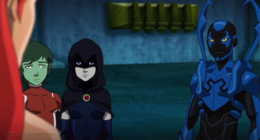 idle hands justice league vs teen titans movie preview