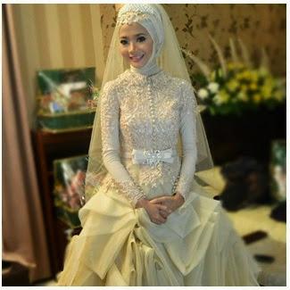 Trend Model Baju dan Gaun Pengantin untuk Pernikahan Muslim 2017/2018