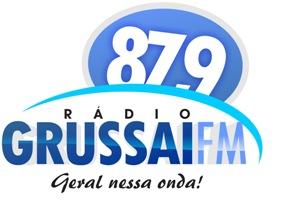 Site da Rádio Grussaí FM 87.9