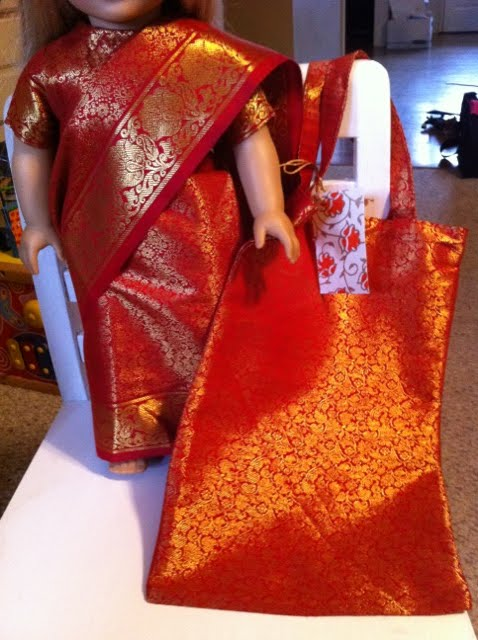 how to make a sari for a child